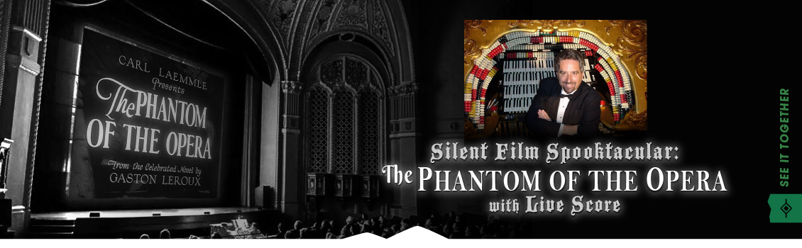 Silent Film Spooktacular: The Phantom of the Opera with Live Score Image