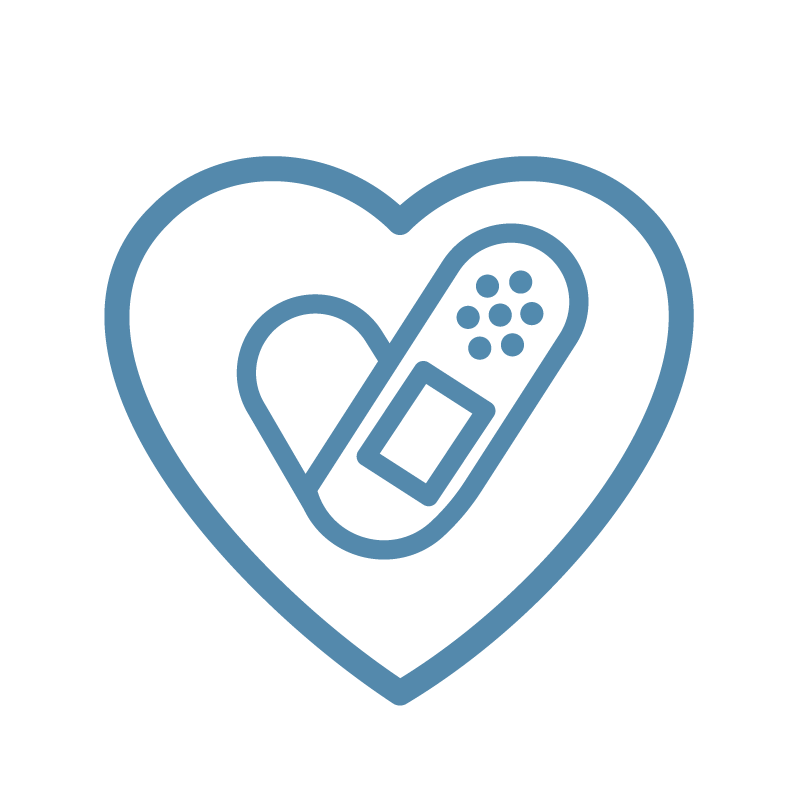 health policy heart icon
